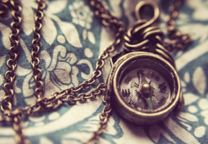Photo of an antique pocket watch